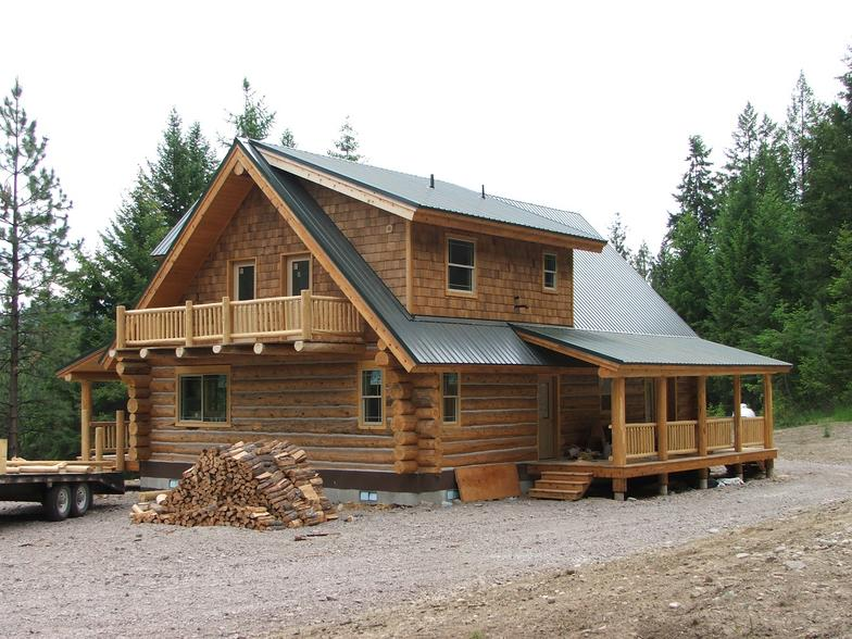 Log house kits for 600 sq ft cabin kits