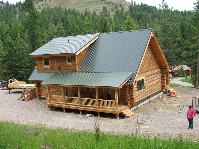 Log house kits for 800 square foot house kit